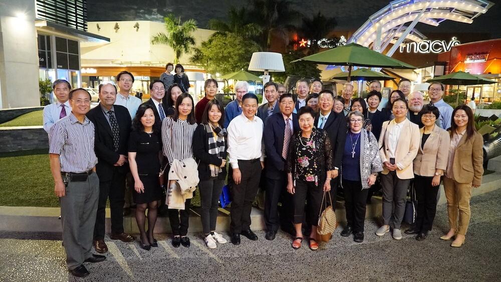 歡迎中國基督教代表團訪問洛杉磯