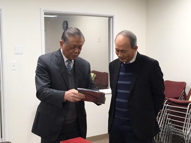 中国基督教两会和国宗代表团在开路者